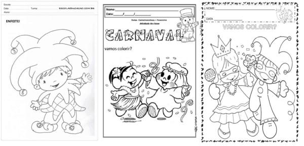 69 Atividades De Carnaval Para Imprimir Gratis