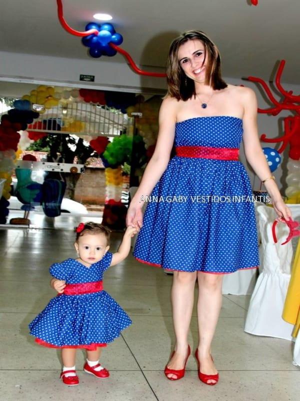 vestido de mãe e filha combinando