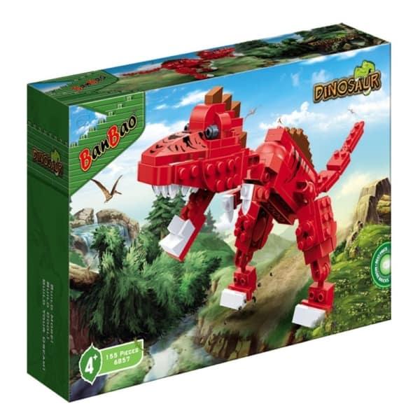 brinquedo de montar de dinossauro