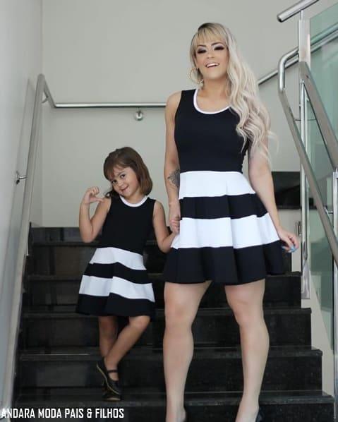 look mãe e filha para natal