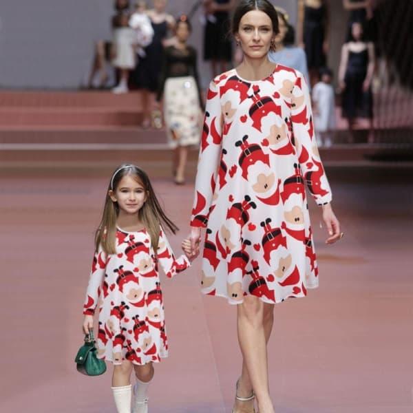 look de natal para mãe e filha