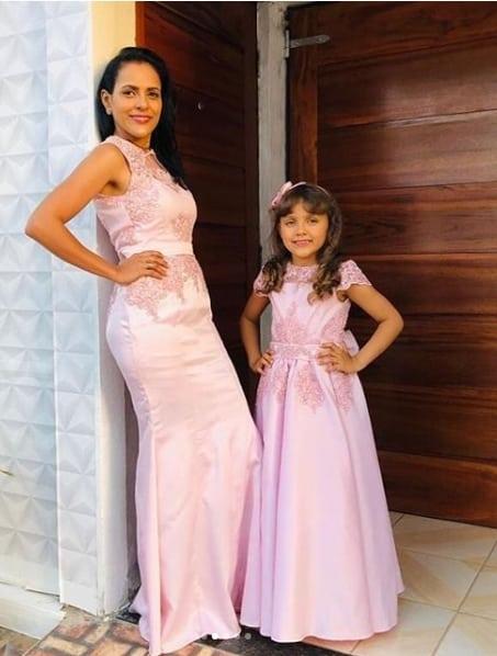 vestido mãe e filha para casamento