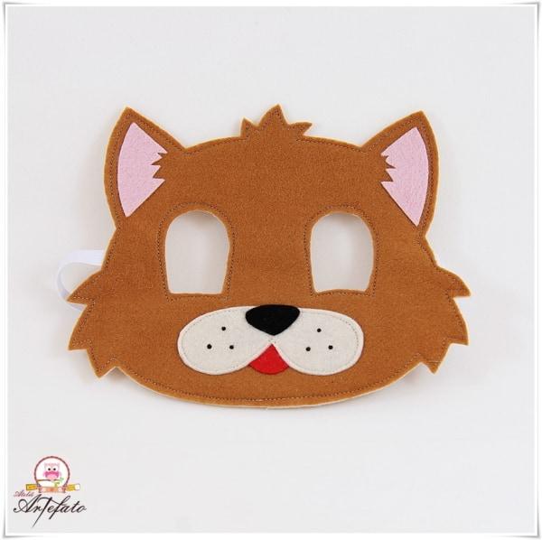 Mascara infantil simples de gato