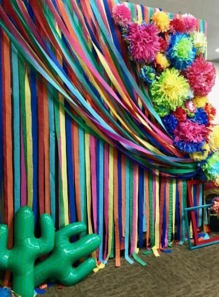 decor simples de carnaval