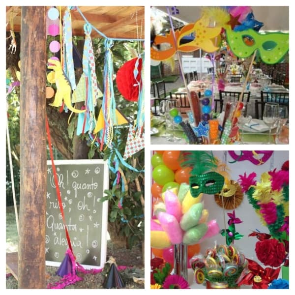 decoração de festa de carnaval infantil 1
