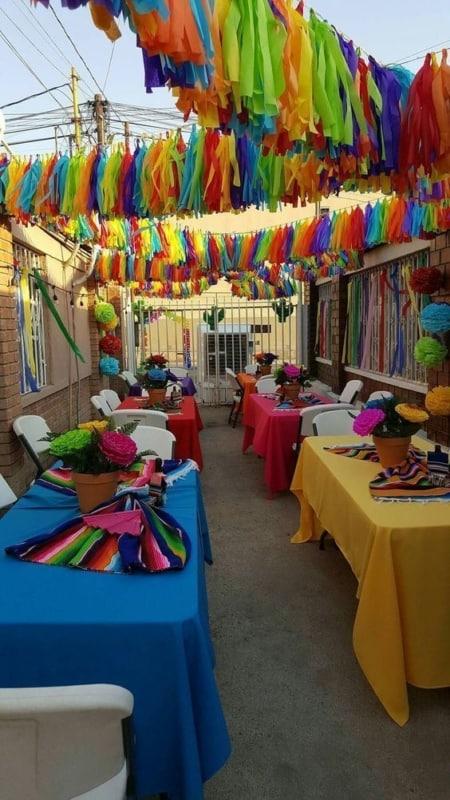 decoração de festa de carnaval