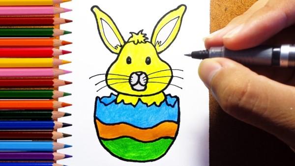desenho de ovo de pascoa fotos