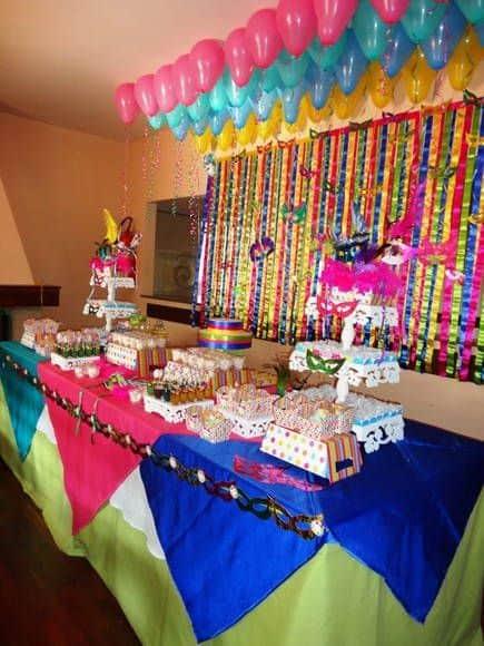 festa de carnaval ideias