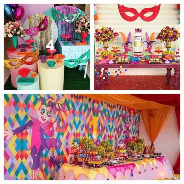 festa de carnaval infantil decoração 1