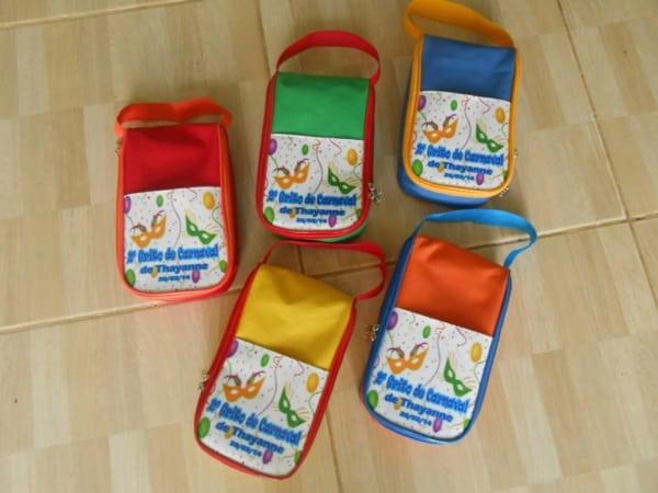 lembrancinha de carnaval bolsas