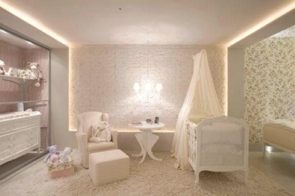 lindo Berço Provençal Branco