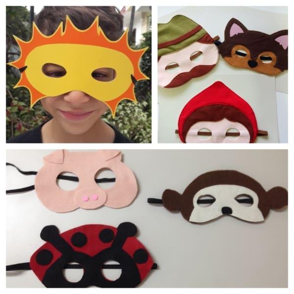 máscara infantil Carnaval