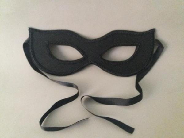 máscara infantil Simples