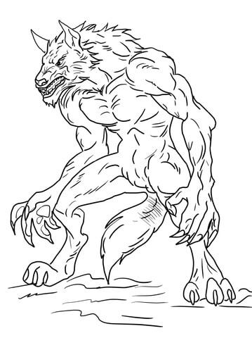 monstro do ben 10 para colorir