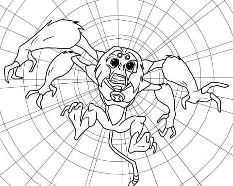 spidermonkey ben 10