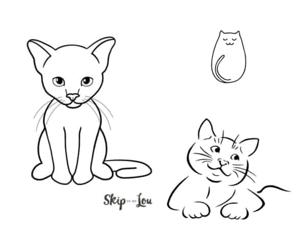 desenhos simples para fazer com as crianças