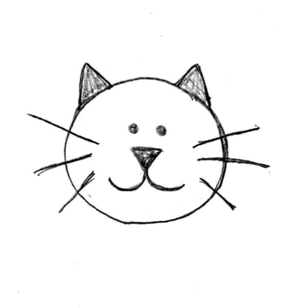 ideia de desenho simples para crianças