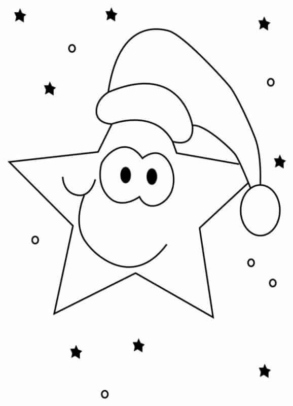 desenho de natal para imprimir grátis