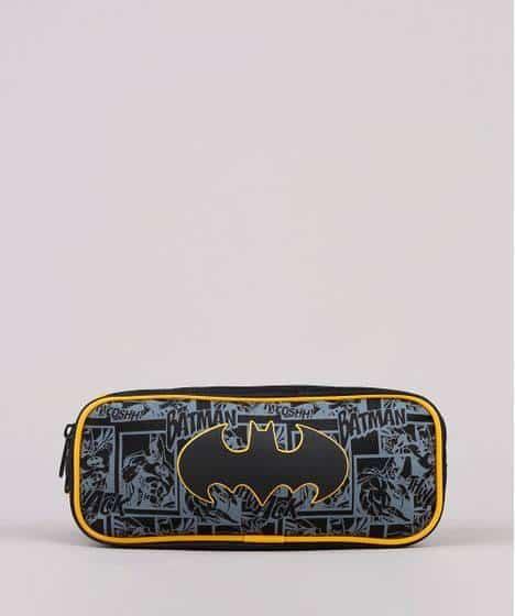estojo escolar do Batman