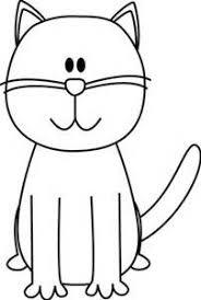 desenho de gato fácil de fazer