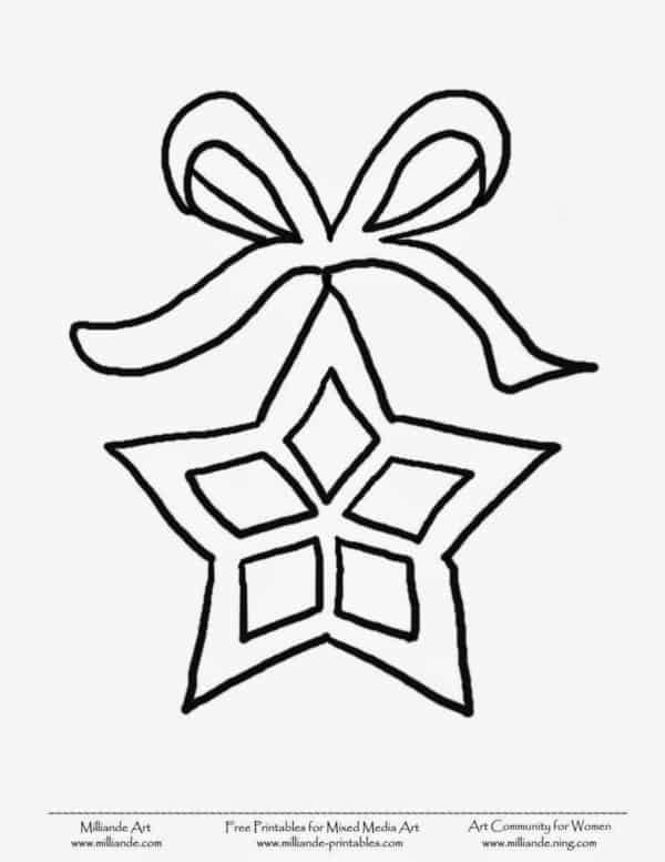 desenho de natal para imprimir e pintar