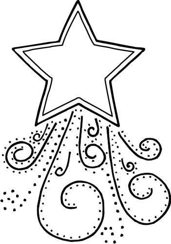 estrela de natal simples