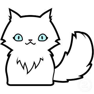 desenho de gato infantil