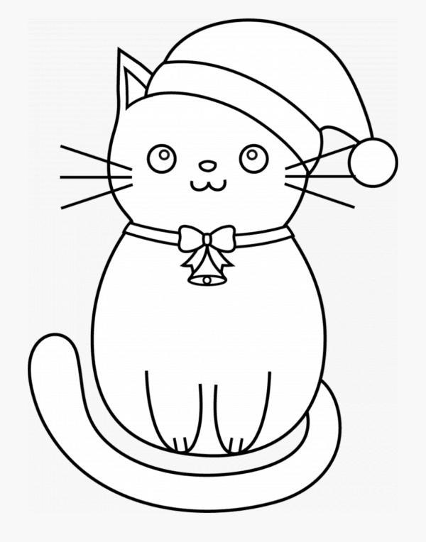 desenho infantil de gato