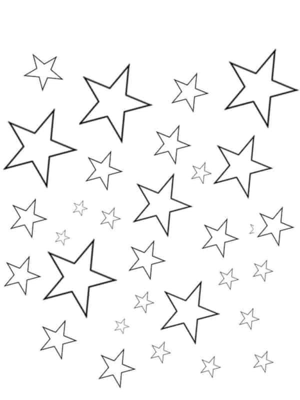 estrelas de 5 pontas pequenas
