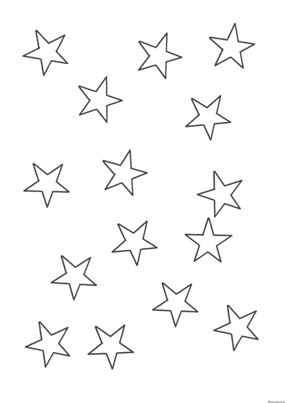 estrela pequena para pintar