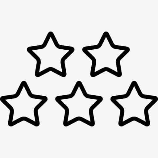 estrelas pequenas para imprimir grátis