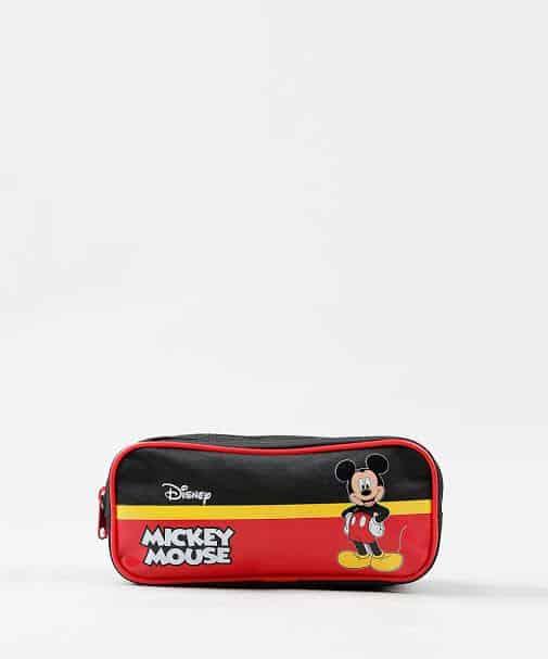 estojo masculino Mickey Mouse