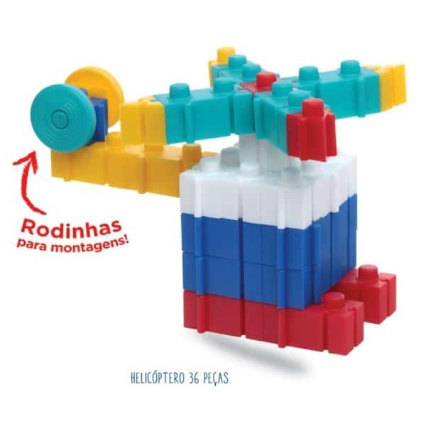 Brinquedo de Montar Elka avião