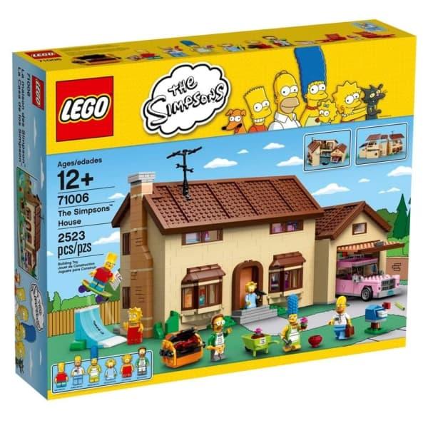 Brinquedo de Montar LEGO simpsons