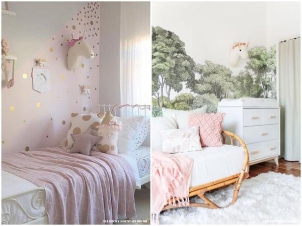Duas dicas de decoração para quarto de unicórnio
