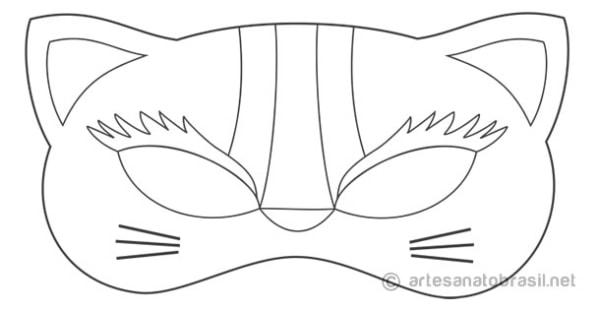 Máscara para colorir25
