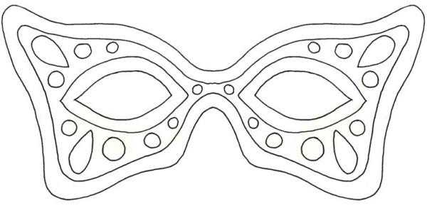 Máscara para colorir27