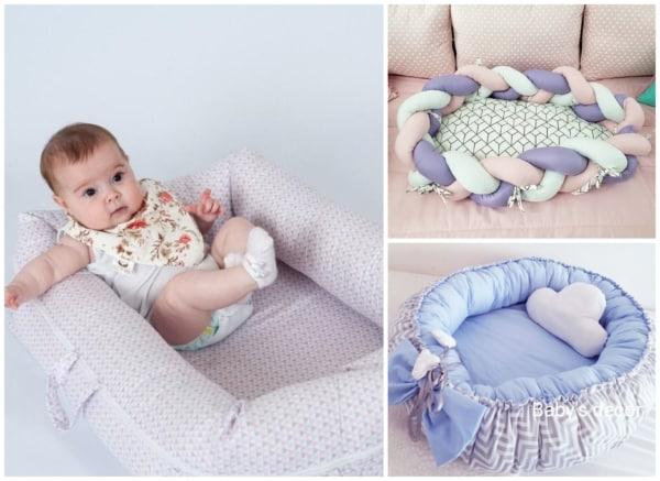 Modelos de ninhos para bebê