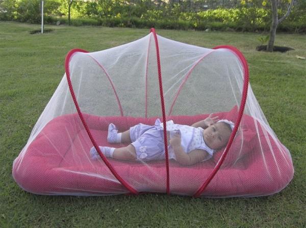 Ninho mosquiteiro para levar para qualquer lugar