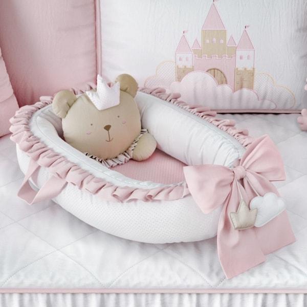 Ninho para bebê de ursinha
