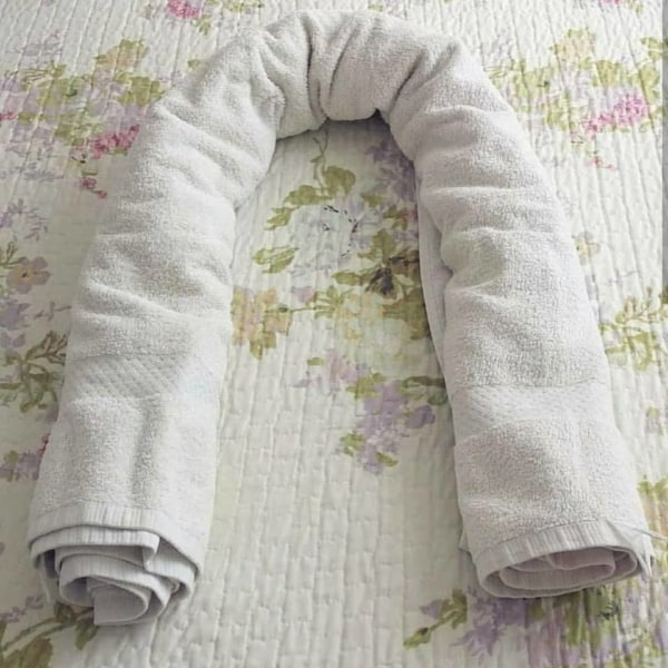 Passo a passo do ninho de bebê 4