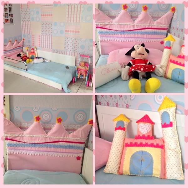 Quarto com cama montessoriana de princesa