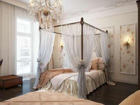 Quarto lindo com cama de princesa para copiar