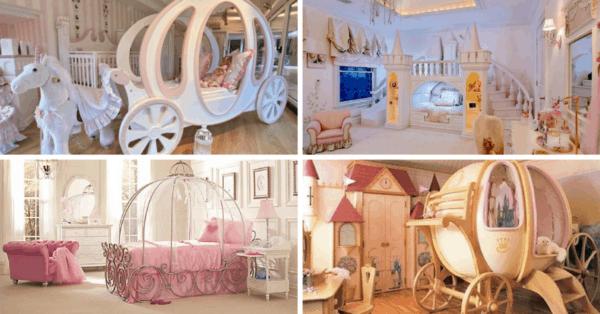 Quatro modelos de camas princesas