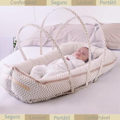 Vantagem do ninho com mosquiteiro para bebê