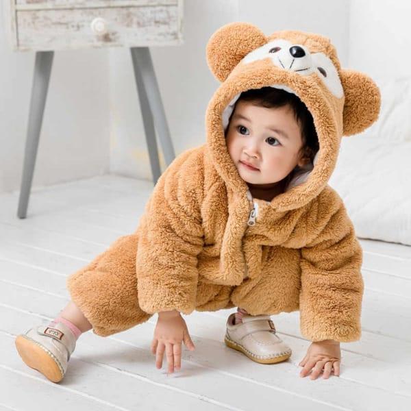 macacão de bichinho urso