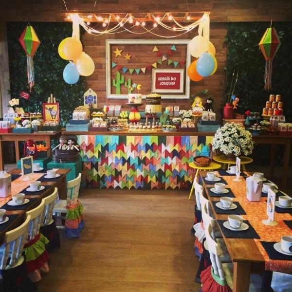 Festa Junina Infantil como decorar