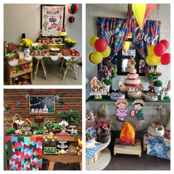Festa Junina Infantil decoração