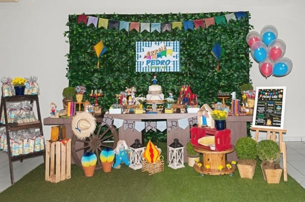 Festa Junina Infantil provençal