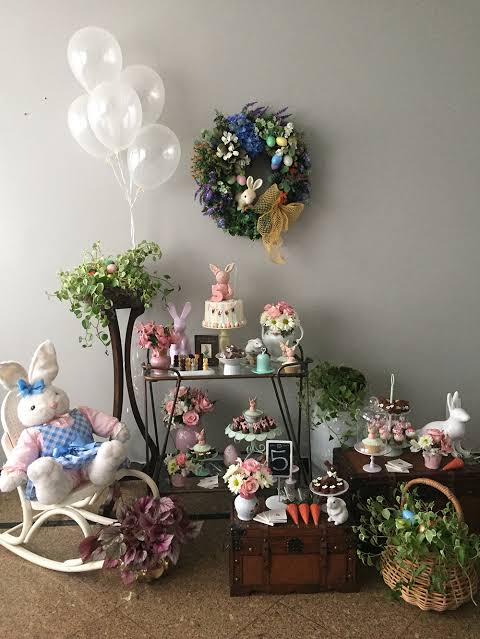 Mesversário Páscoa decoração19